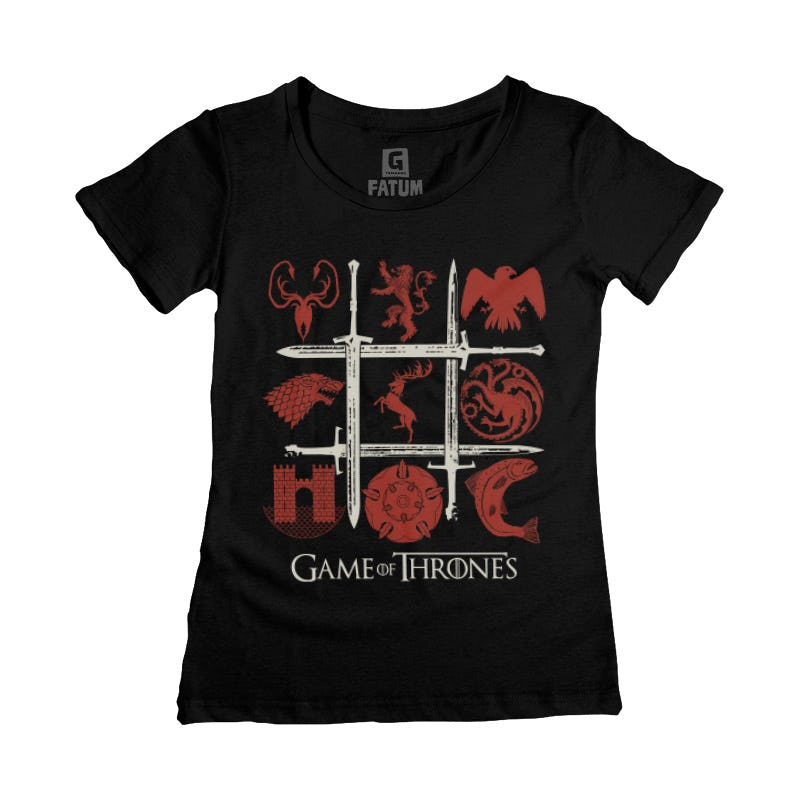 CAMISETA FEMININA GAME OF THRONES