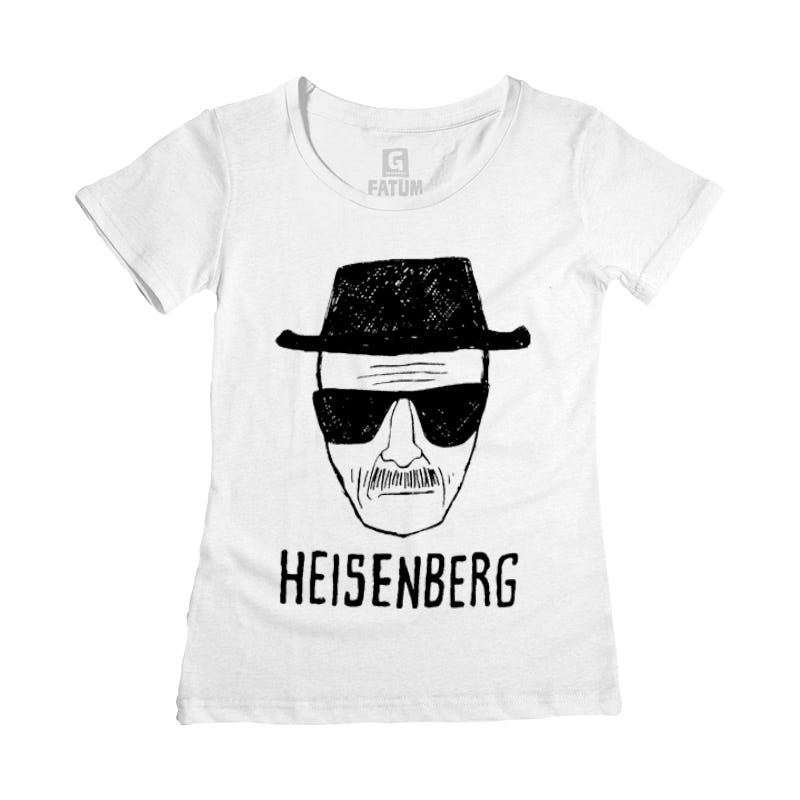 CAMISETA FEMININA BREAKING BAD