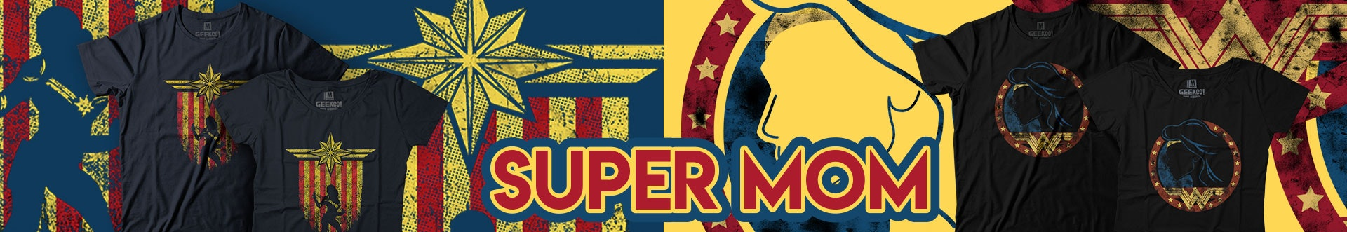 Banner Página Super Mom - Geek