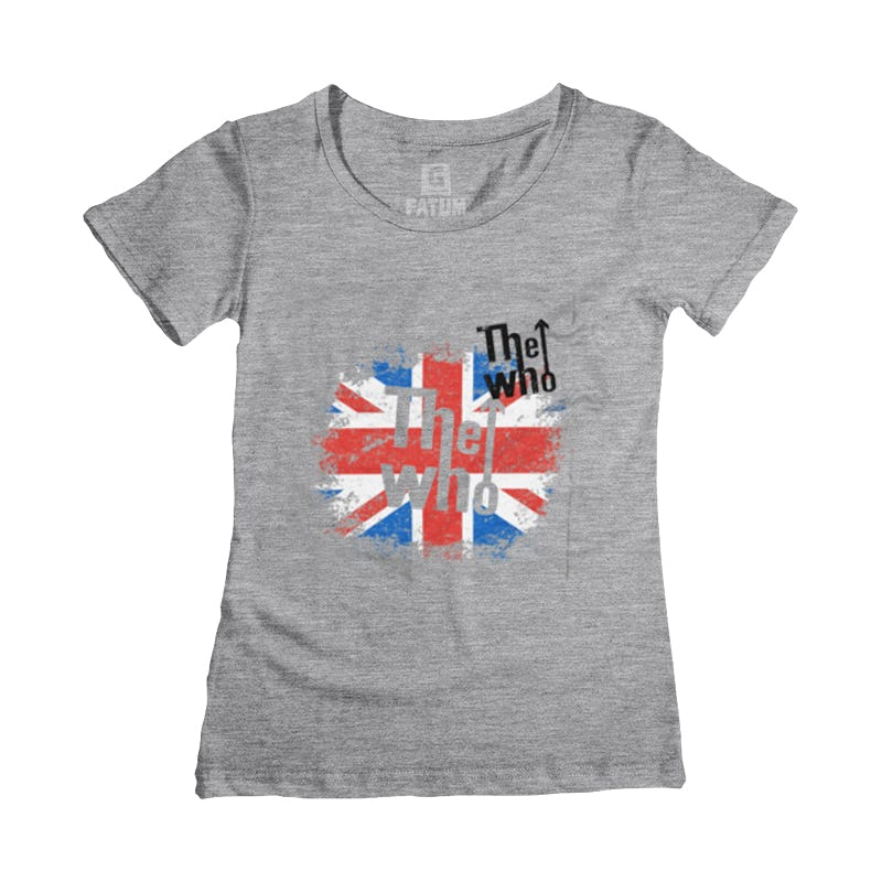 Camiseta Feminina THE WHO