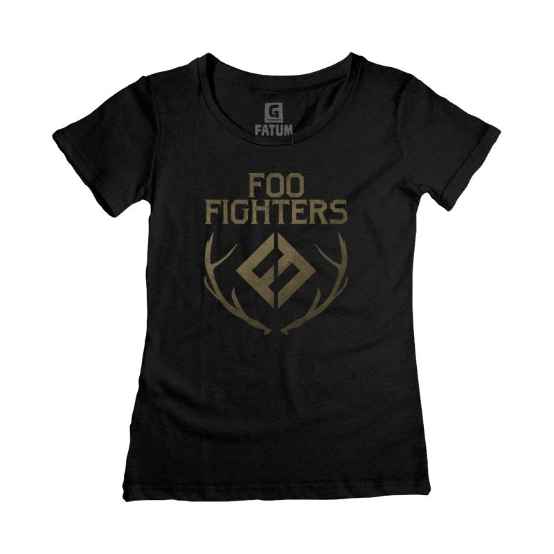 Camiseta Fem FOO FIGHTERS