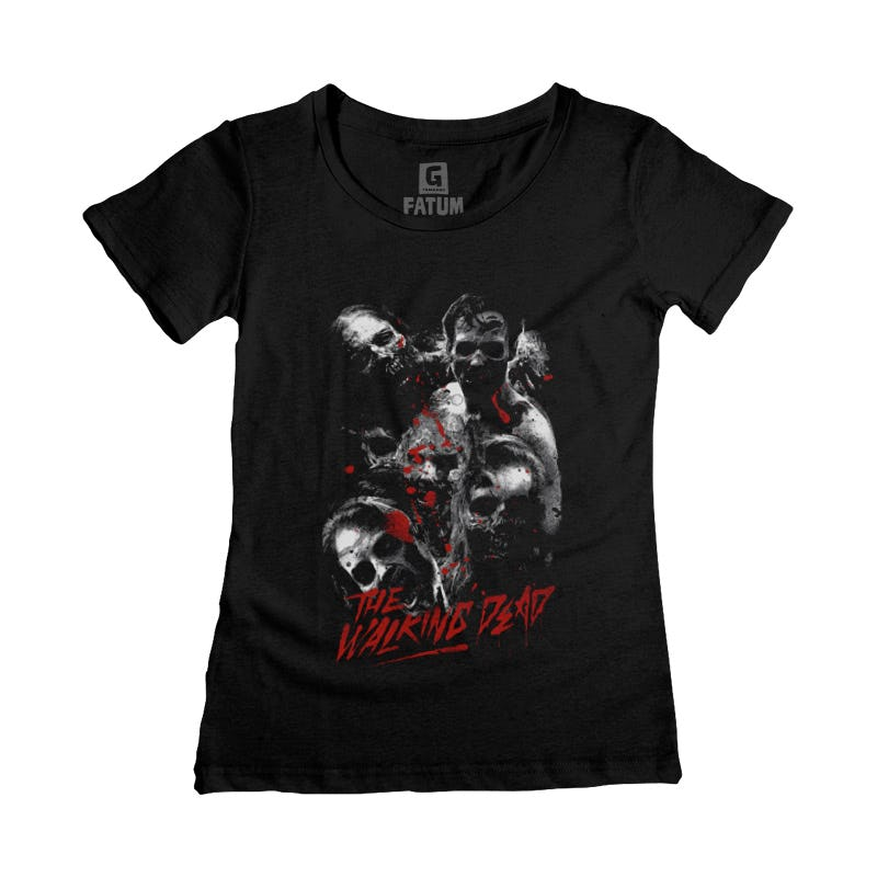 Camiseta Fem THE WALKING DEAD