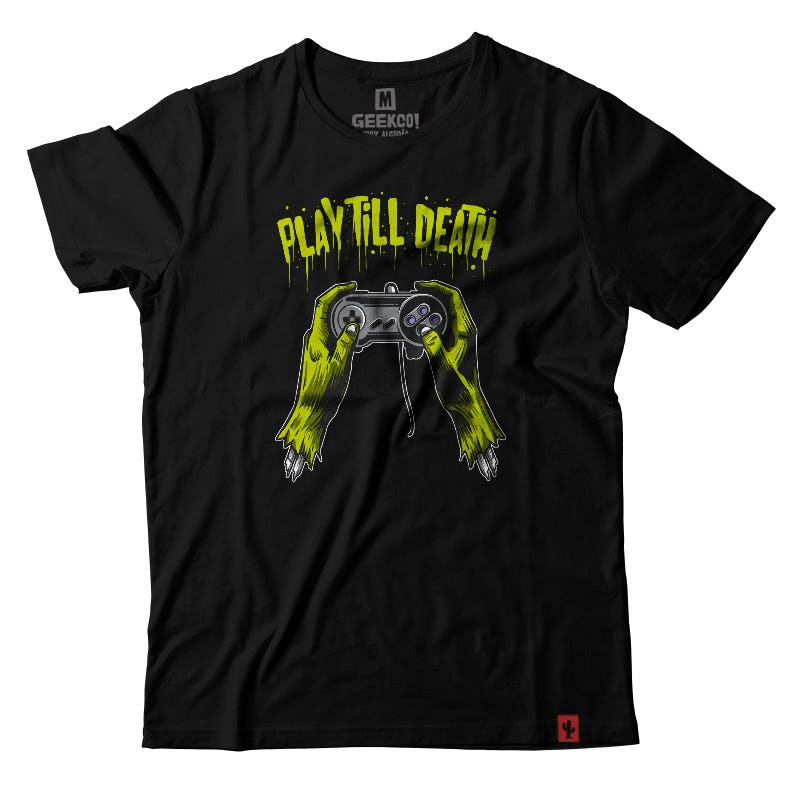 CAMISETA PLAY TILL DEATH
