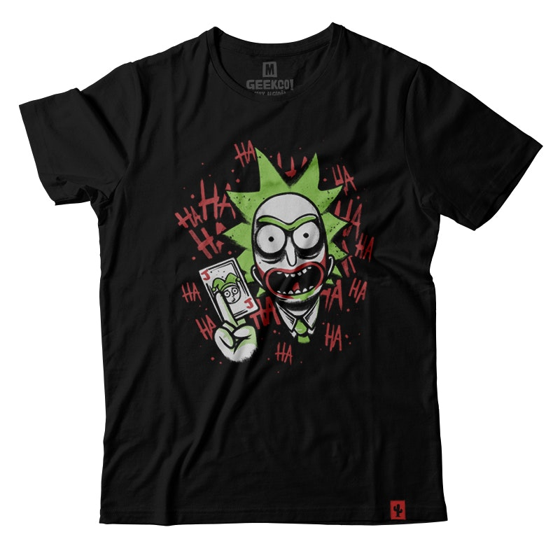 CAMISETA RICK MORTY