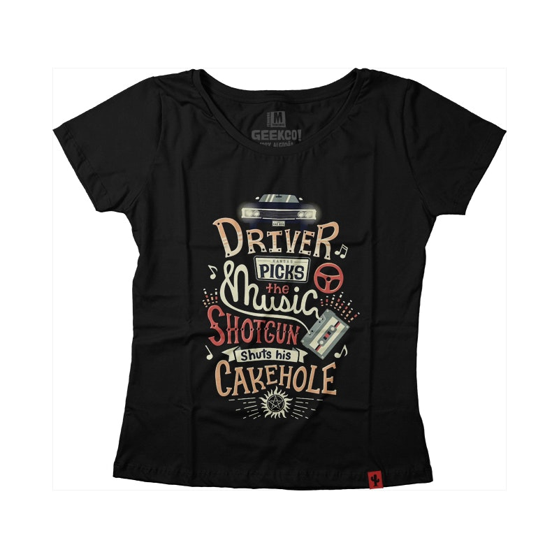 CAMISETA FEMININA SUPERNATURAL